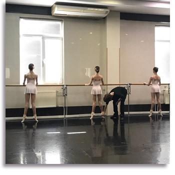 Мастер-классы по классическому танцу