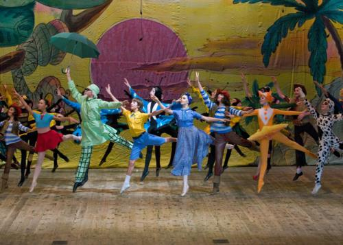 "Сцена из балета ""Доктор Айболит""."