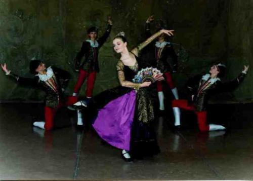 Испанский танец.